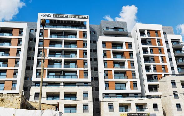 פרויקט הרובע של חברת גולדן ארט חיפה , צילום: קובי סרור