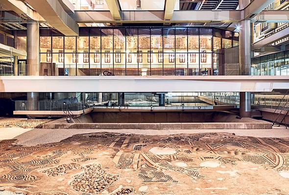המלון מעל אתר העתיקות באנטקיה, צילום: EnginGercek