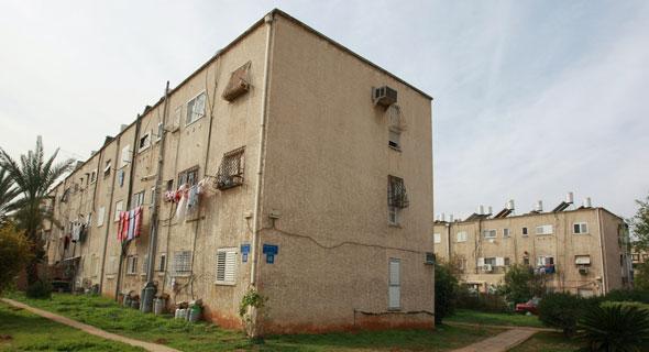 """שכונת יד אליהו בת""""א, המיועדת לפינוי־בינוי. """"העירייה תומכת בדירות קטנות"""", צילום: שאול גולן"""