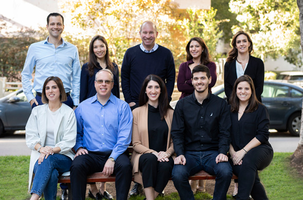 Elie Wurtman (back row center) and the Pico Team. Photo: Omer Hacohen