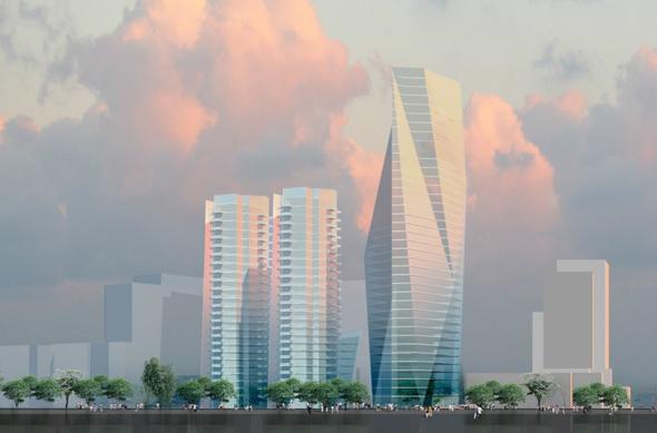 פרויקט מגורים ברמת החייל (הדמיה), הדמיה: משה צור אדריכלים ובוני ערים