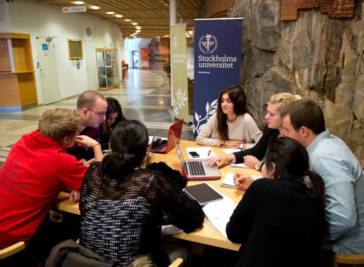 אוניברסיטת שטוקהולם , צילום: AFP