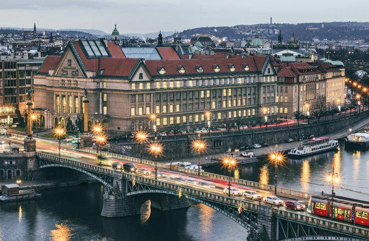 הפקולטה למשפטים אוניברסיטת קארל, בפראג, צילום: שאטרסטוק