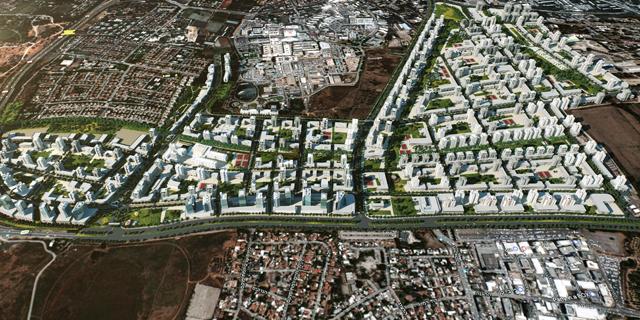 """התוכנית לשכונת ענק בר""""ג קיבלה אור ירוק"""