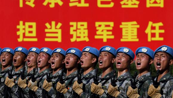 חגיגות ה-70 להחלת השלטון הקומוניסטי בסין, בתחילת החודש, צילום: רויטרס