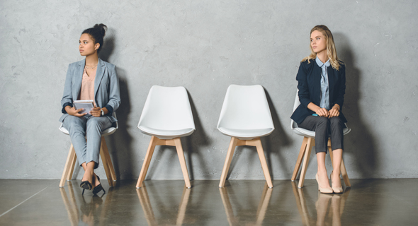 Candidates waiting for a job interview. Photo: Shutterstock