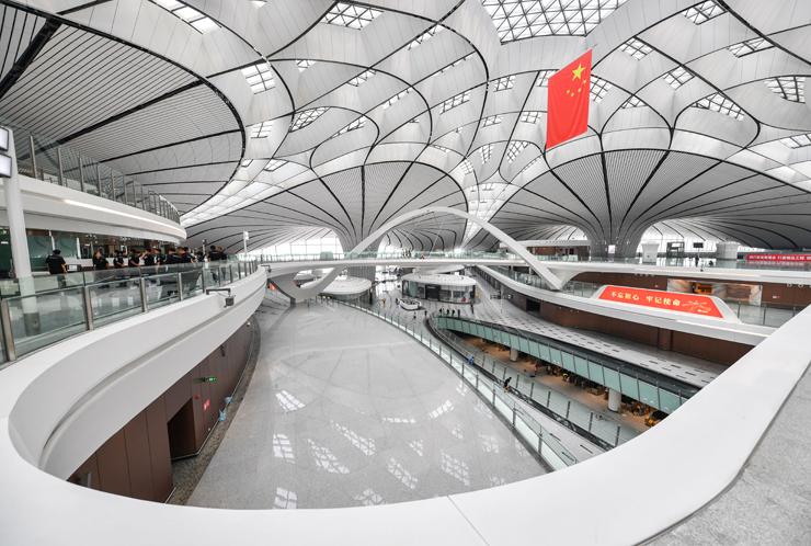 שדה תעופה דאשינד, בייג'ינג, סין