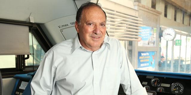 """מנכ""""ל רכבת ישראל מיכה מייקסנר, צילום: אלעד גרשגורן"""