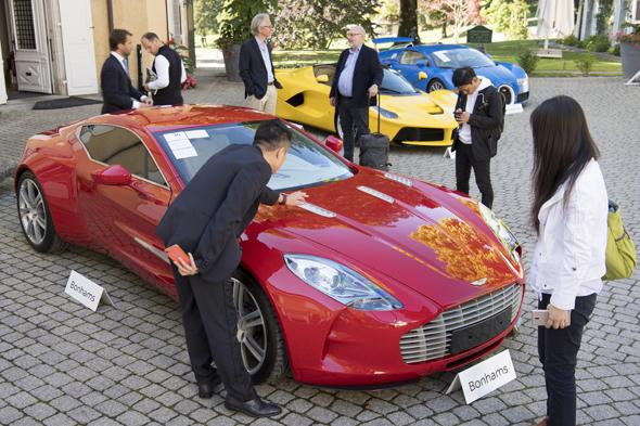 אוסף המכוניות של סגן הנשיא