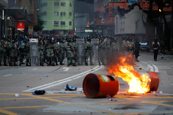 הסלמה בהונג קונג