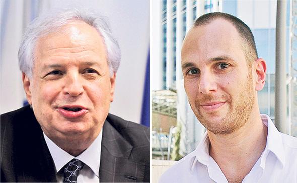 בעלי השליטה לשעבר ביורוקום אור אלוביץ' ו שאול אלוביץ', צילומים: אוראל כהן, יובל חן