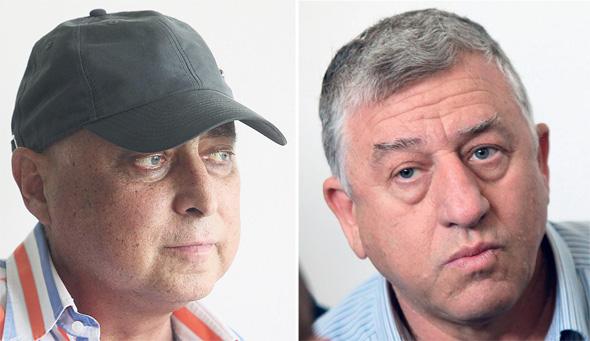 שמעון יצחקי ומוטי זיסר. לא להיגרר להליכים מתישים, צילומים: אוראל כהן, עמית שעל