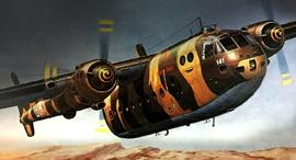 נורד מטוס תובלה הקברניט מלחמת ההתשה, צילום: Heller