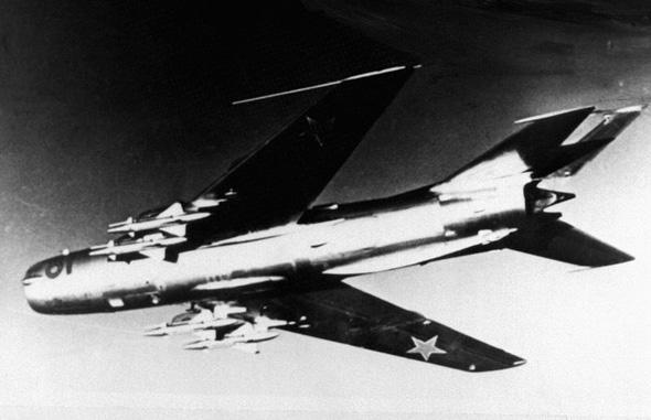מיג 19 בטיסה