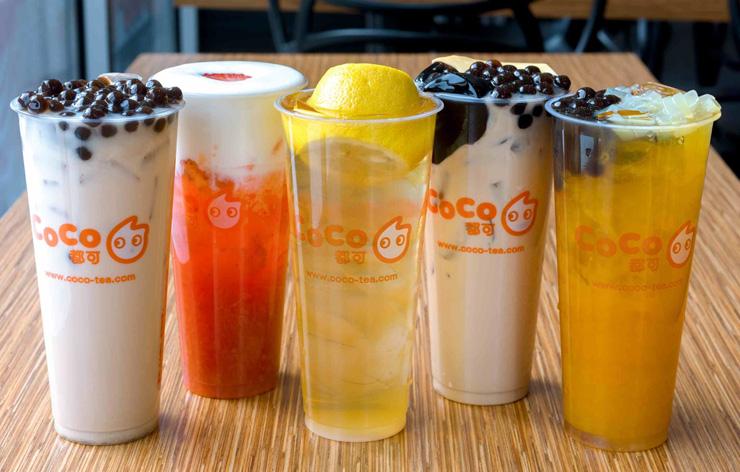 תה בועות של בית התה Coco Fresh Tea & Juice