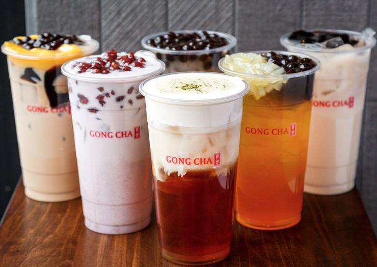 תה בועות של בית התה Gong cha, טייוואן