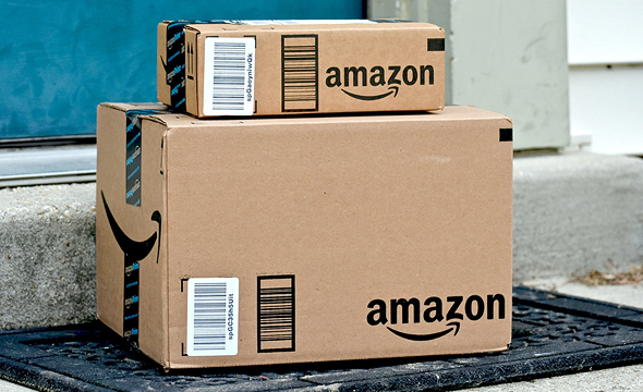 Amazon boxes. Photo: Shutterstock