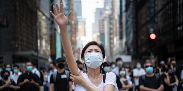 מחיר ההפגנות: הונג קונג נקלעה למיתון - הראשון מזה עשור