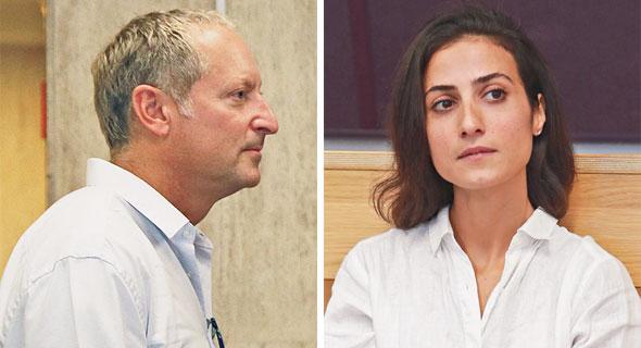 Daniel Birnbaum (left), Ayala Cohen. Photo: Orel Cohen