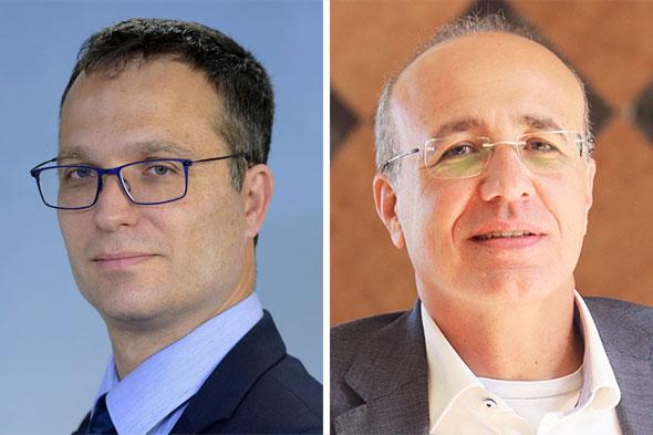 מימין: ראש רשות שוק ההון משה ברקת והיועץ המשפטי של האוצר אסי מסינג, צילום: אוראל כהן