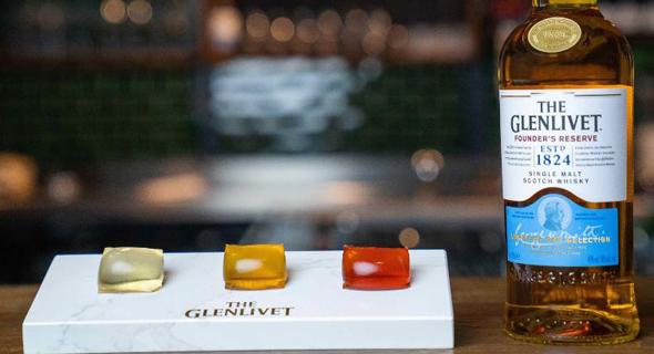 קפסולות וויסקי סקוטי של גלנליווט, צילום: Glenlivet