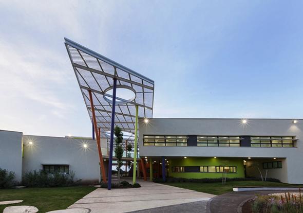בית הספר הראשון שנבנה בבנייה ירוקה בקריית ביאליק