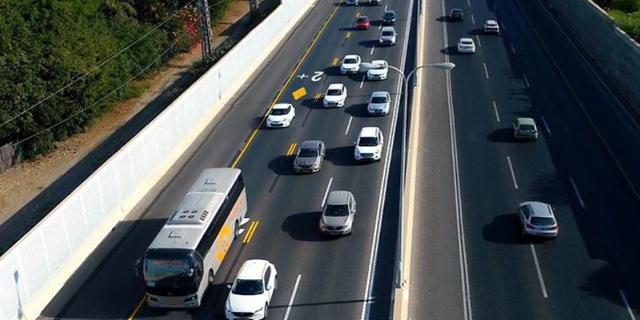 שיפורים בנתיב הקארפול: תוספת נסיעה בשוליים ותגבור מערך האוטובוסים והחניות