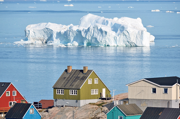 A melting iceberg in Greenland. Photo: Getty Images
