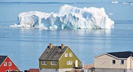 קרחון צף גרינלנד איכות סביבה , צילום: גטי