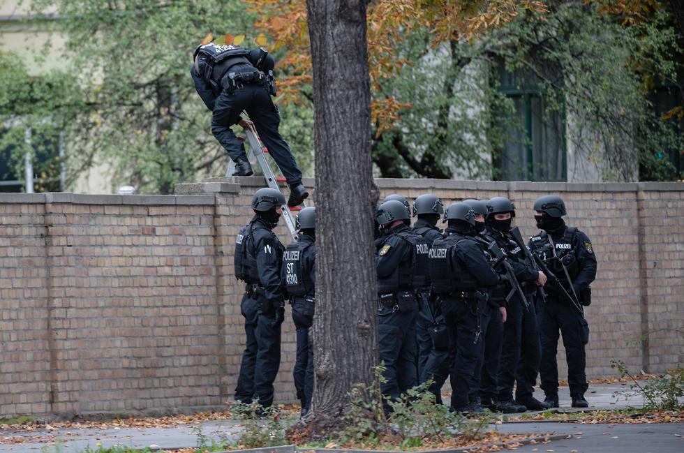 זירת הירי בגרמניה