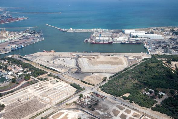 פרויקט נמל המפרץ בחיפה. מקור לדאגה גם לממשל האמריקאי