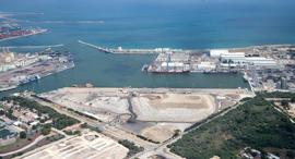 פרויקט נמל מפרץ חיפה, צילום: חברת שפיר