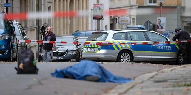 ירי ליד בית כנסת בגרמניה במהלך יום כיפור: שניים נהרגו, חשוד נעצר