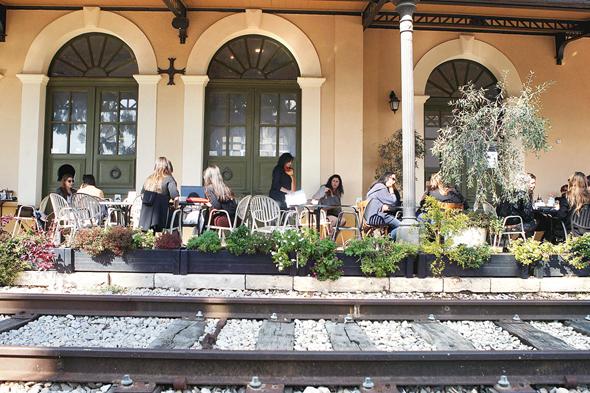 """מתחם התחנה בת""""א, צילום: עמית מגל"""