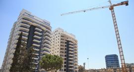בנייה בקרית אונו, צילום: אוראל כהן