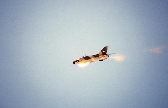 התחליף לחילוואן? מיטב התוצרת הסובייטית. מיג 21 מצרי באוויר
