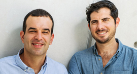 Jones co-founders Michael Rudman (left) and Omri Stern. Photo: Mike Hanson