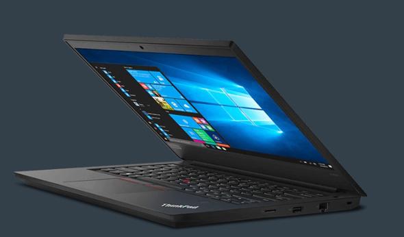 ה-ThinkPad E490 של לנובו, בעל מסך 14 אינץ', מעבד i5, זיכרון פעולה של 8 גיגה ומחיר שמתחיל בכ-2,800 שקל