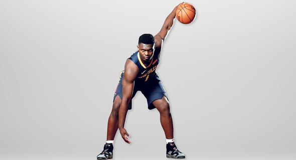 """זאיון וויליאמסון. כבר בכיתה י""""ב היו לו יותר עוקבים באינסטגרם מכמעט כל שחקני ה־NBA"""