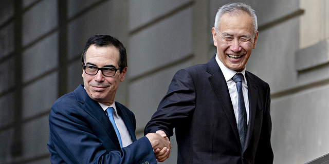 """ארה""""ב: קרובים לסיכום עם סין על חלקים מהסכם סחר חדש"""