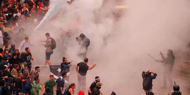 ברצלונה: מהומה בשדה התעופה בגלל מאסר לבדלנים