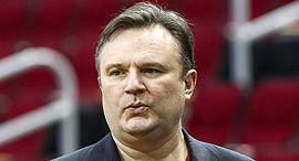 דריל מורי מאמן מנהל קבוצת NBA כדורסל יוסטון רוקטס, צילום: רויטרס