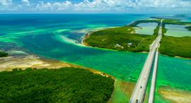 פוטו אוטוסטרדות הכבישים המהירים היפים בעולם פלורידה The Overseas Highway, צילום: שאטרסטוק