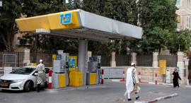 תחנת הדלק במאה שערים, צילום: עמית שאבי