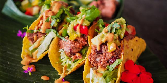 Vegan tacos. Photo: Shutterstock