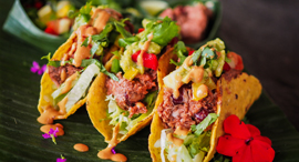 Vegan tacos. Photo: Shutterstock