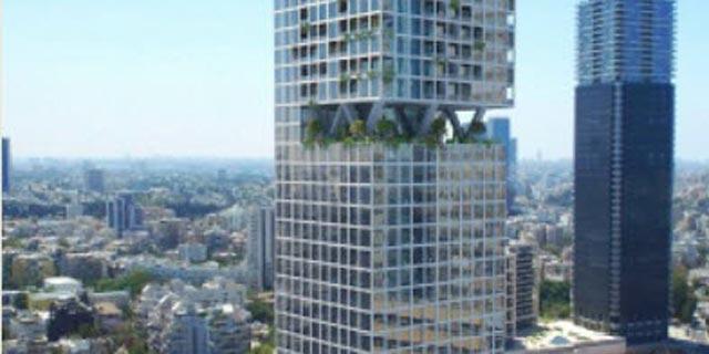 מגדל מגורים ותעסוקה בן 35 קומות יוקם בצומת עלית ברמת גן