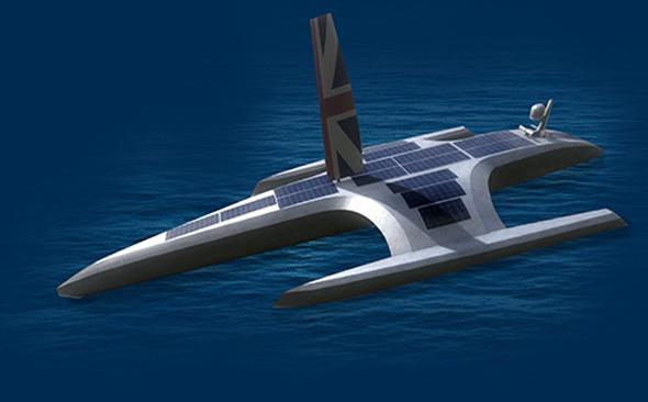 הדמיית הספינה של IBM, צילום: IBM