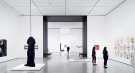 פנאי ה MoMa המוזיאון לאמנות מודרנית ב ניו יורק גלריה באגף חדש על שם דיוויד גפן, צילומים: אי.אף.פי