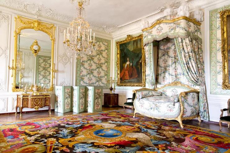 חדר בארמון ורסאי שבצרפת